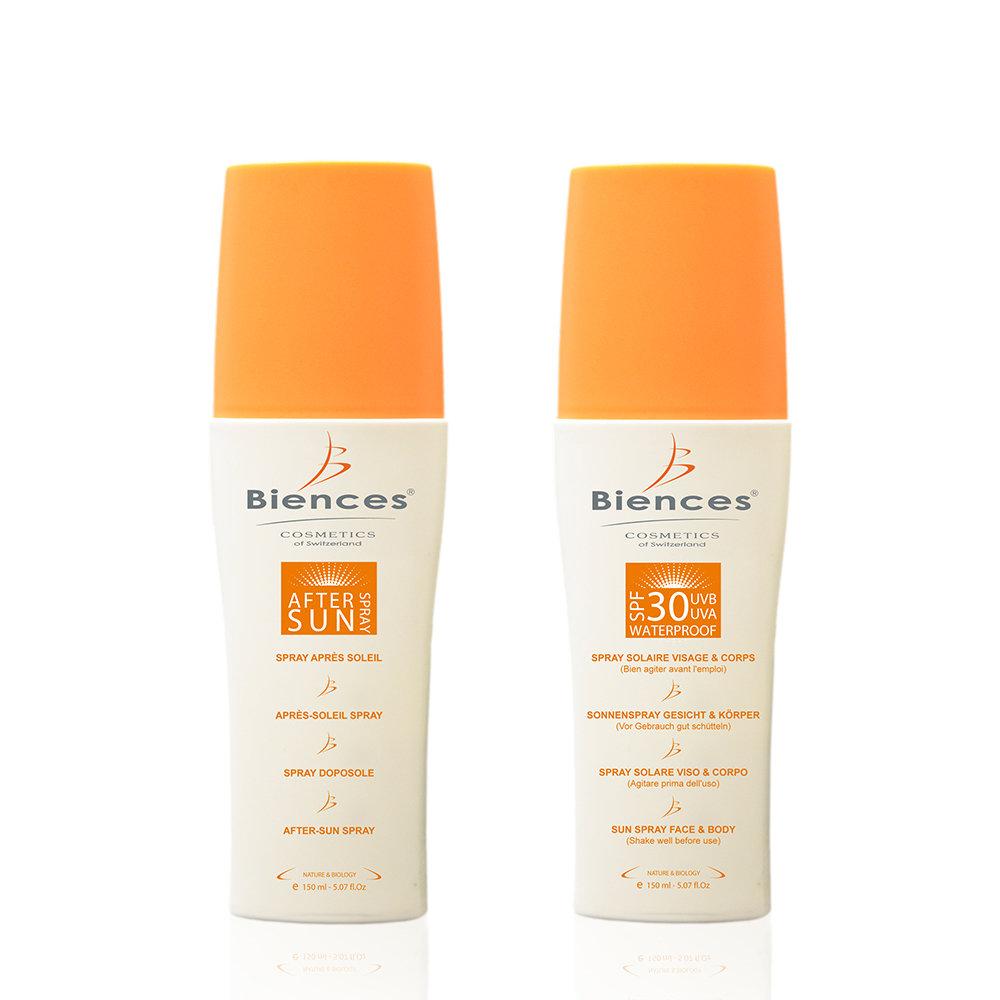 -35% | Duo : Spray solaire corps et visage IP30 et après-soleil