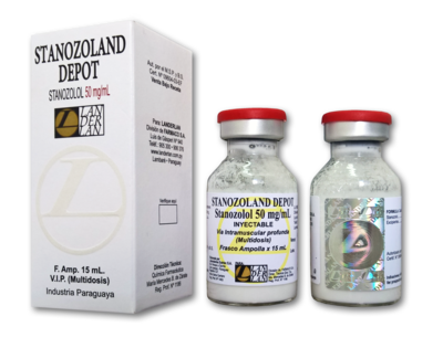 Stanozoland Depot 50 mg. Inyectable
