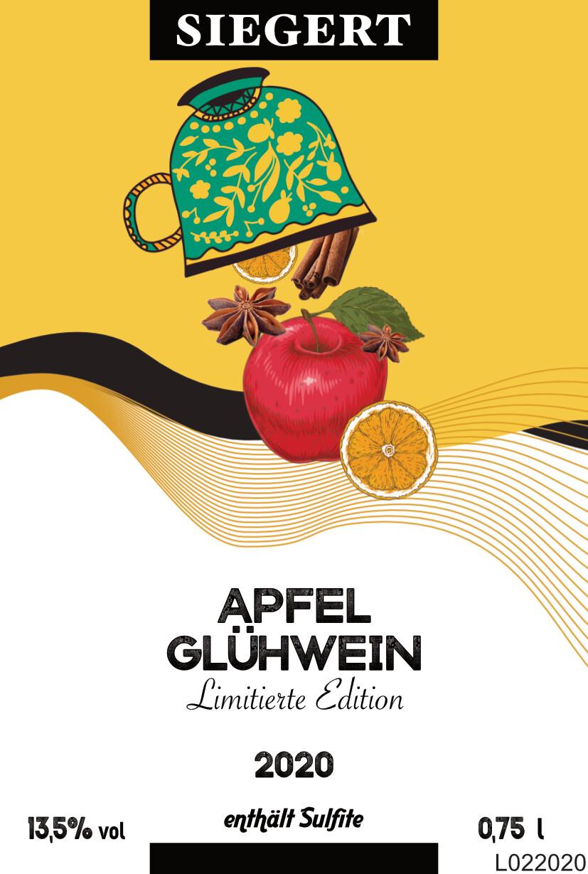 Apfel-Glühwein 2020 (0,75l - 13,5% vol.)