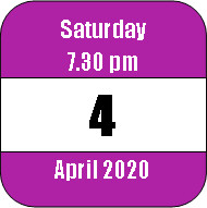 Saturday 4 April 2020
