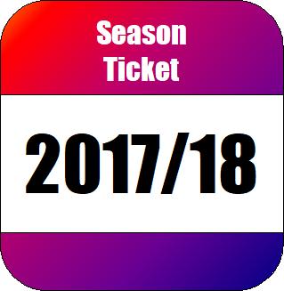 2017/18 Season TIcket season 2017-18