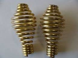 Brass Plated Spring Handle