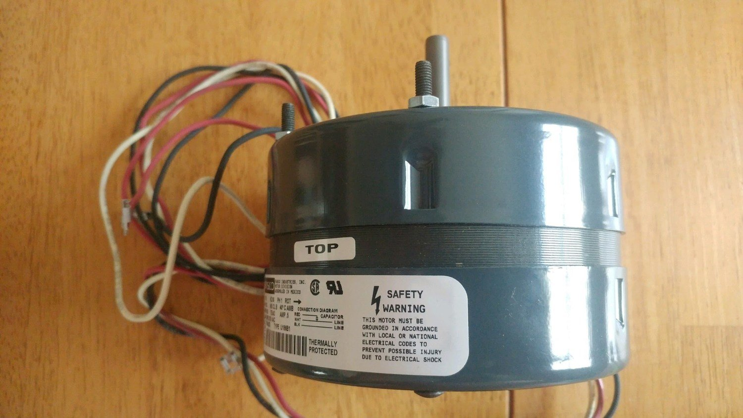 Black Bart Rear Mounted Motor Only (1BB1)