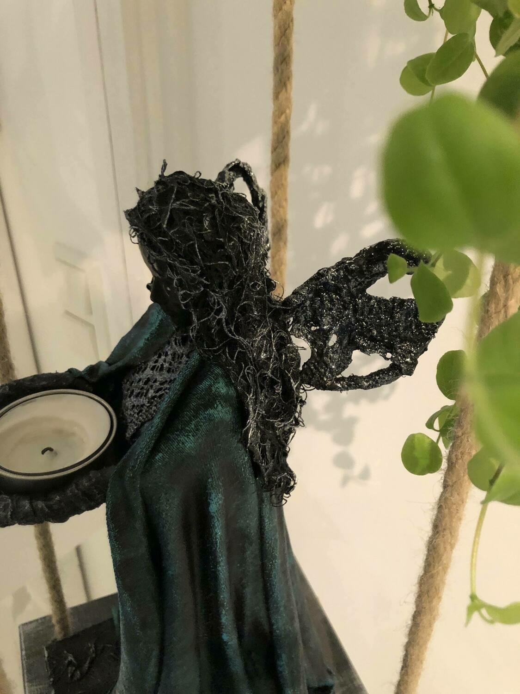 "Skulptur ""Green Angel"""