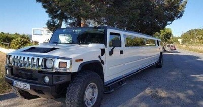 White Hummer Transfers
