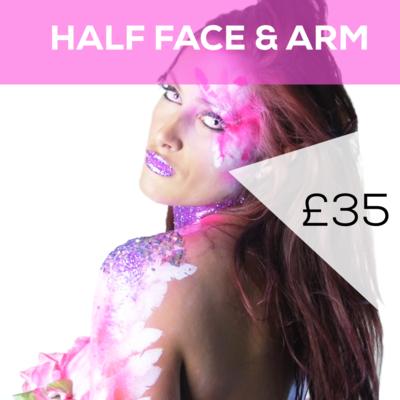 Half Face & Arm