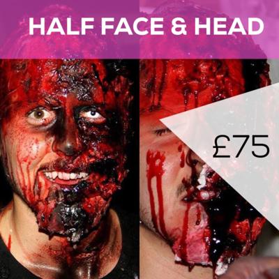 Half Face & Head