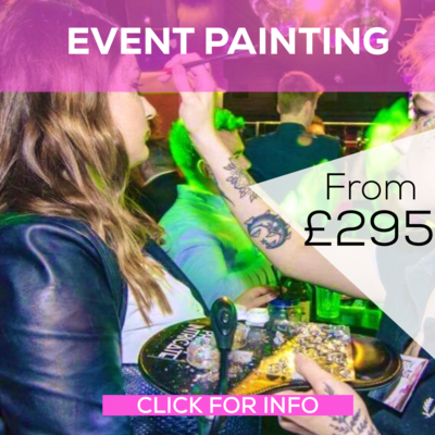 Night Club / Event Face Painting Service - from £295