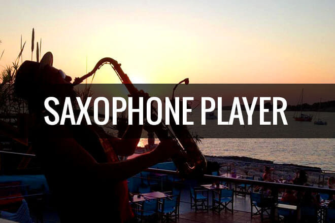 Saxophone Player £500