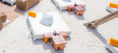 Beach bed (3 pax)