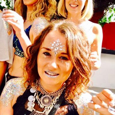 Kirsty brice & friends Open Bar, Glitter & Gems Party - £39