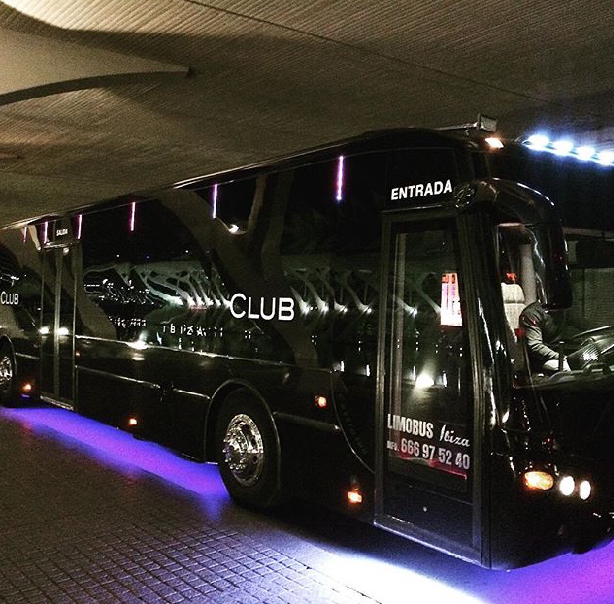 Party bus £495