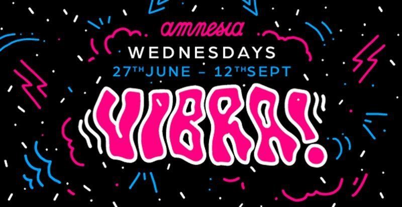 Vibra @ Amnesia Ibiza package £65