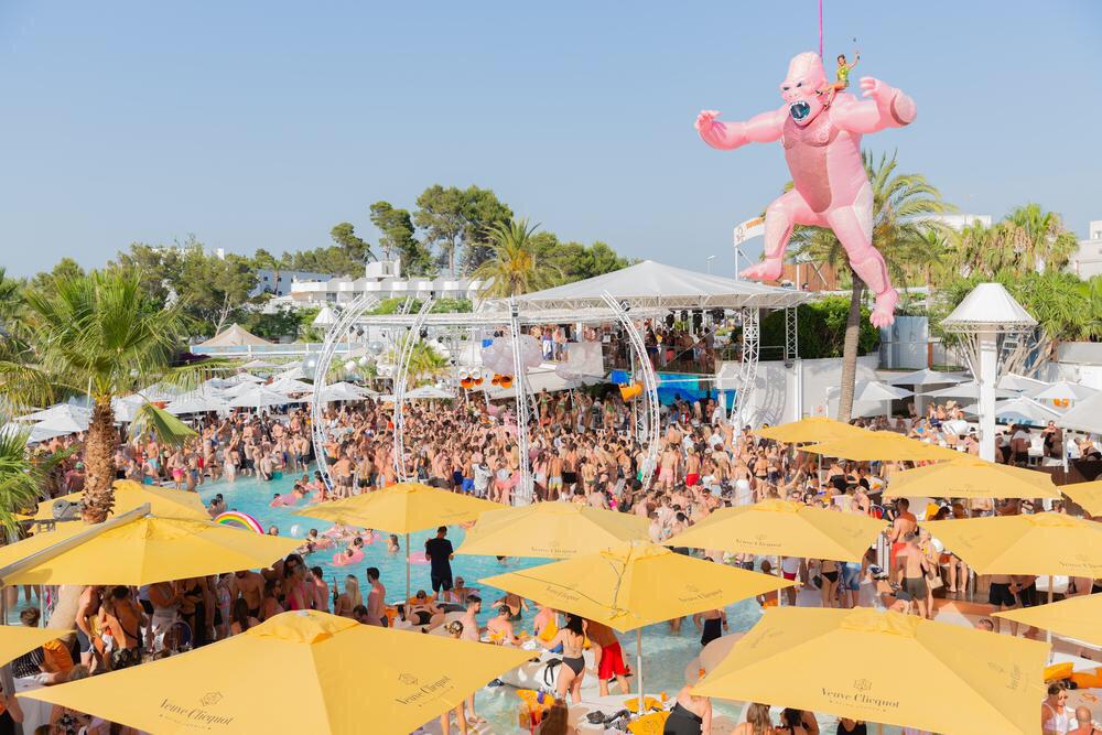 Rachel's Ibiza Birthday getaway