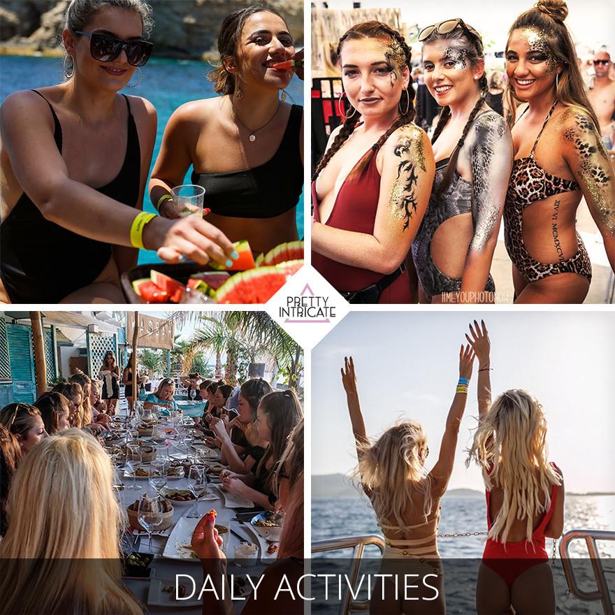 Anniemarie Patterson's Ibiza getaway 2019
