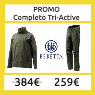 Giacca Tri-Active WP Jacket  + Pantalone  Tri active - BERETTA