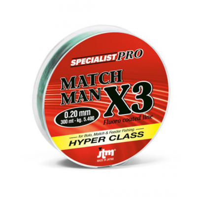 Filo Match Man X3 300 Mt -  JTM