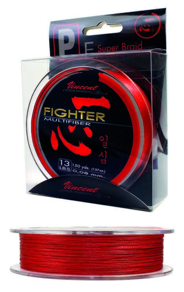 MULTIFIBER RED 150 YDS - VINCENT 00919