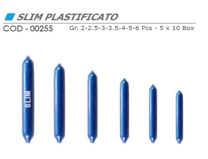 Piombo SLIM PLASTIFICATO - VINCENT 00255