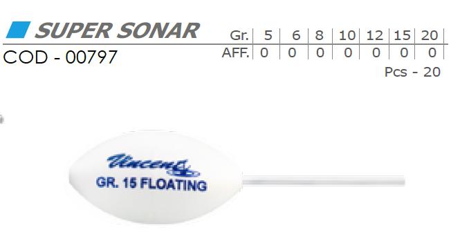 Bombarda Super Sonar - VINCENT 00797