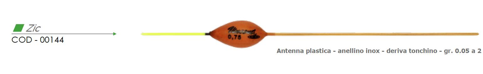 Galleggiante ZIC - VINCENT 00144