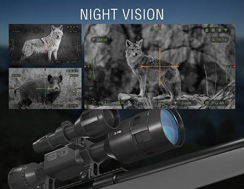 Cannocchiale  X-Sight  4K Pro 3-14X - ATN