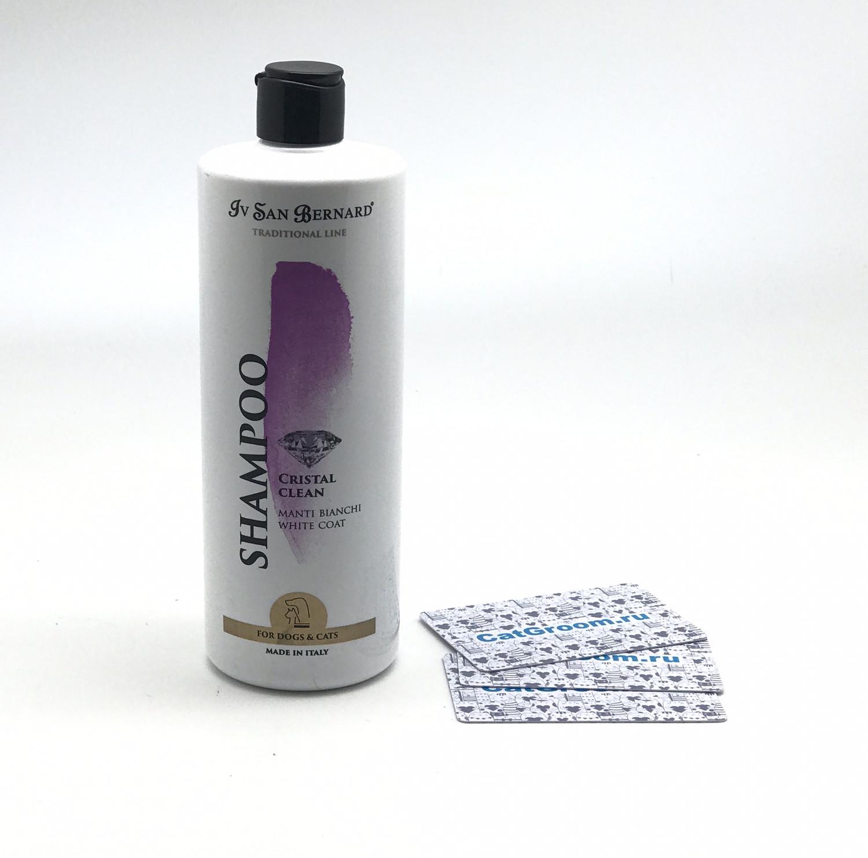ISB Traditional Line Cristal Clean Шампунь для устранения желтизны шерсти 500 мл