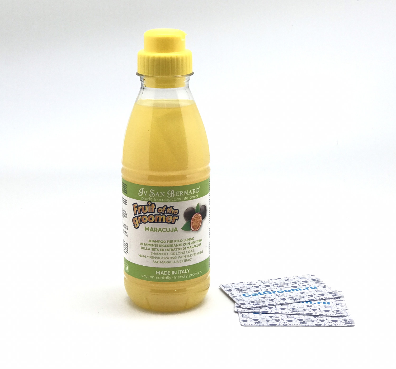 ISB Fruit of the Groomer Maracuja Шампунь для длинной шерсти с протеинами 500 мл