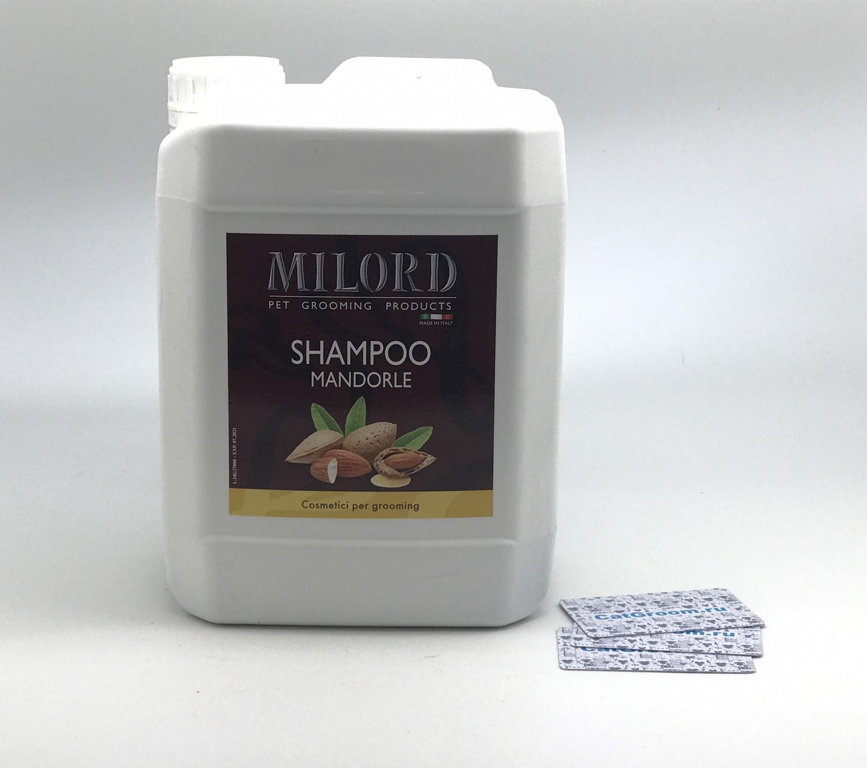 Milord Shampo Mandorle Шампунь для кошек и собак без помпы - 5000 ml