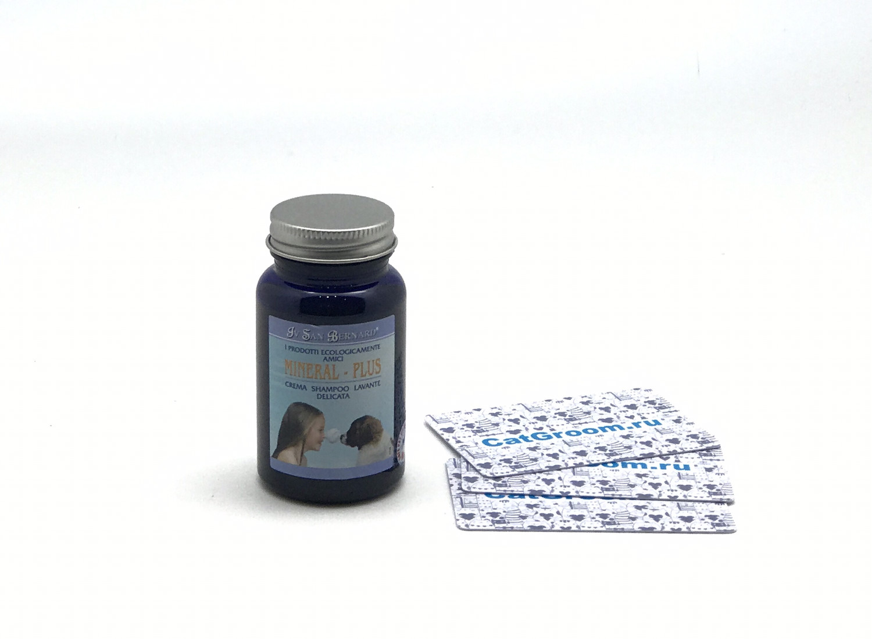 """ISB Mineral Шампунь-крем """"Минерал плюс"""" для борьбы с воспалениями и аллергическими реакциями кожи 100 мл"""