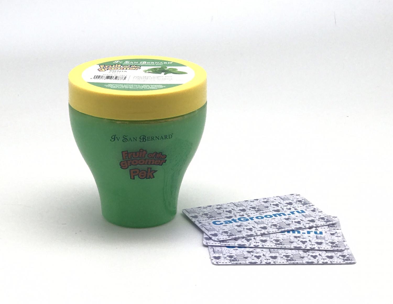 ISB Fruit of the Grommer Mint Восстанавливающая маска для любого типа шерсти с витамином В6 250 мл