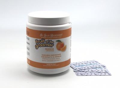 ISB Fruit of the Grommer Orange Восстанавливающая маска для слабой выпадающей шерсти с силиконом 1 л