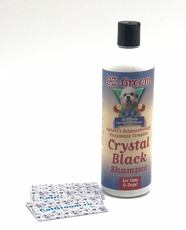"EZ Groom Шампунь Crystal Black ""Черный кристалл"", 473 мл"