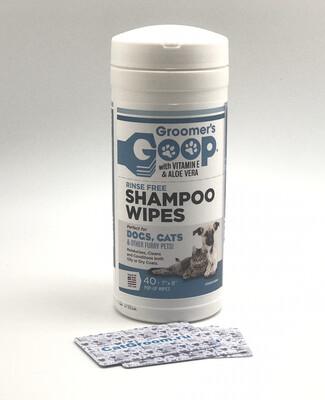 Моющие салфетки Groomer's Goop Wipes 40 штук/уп