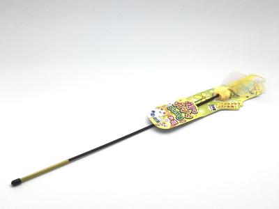 Игрушка дразнилка, махалка,  для кошек   «Цветочек» желтый
