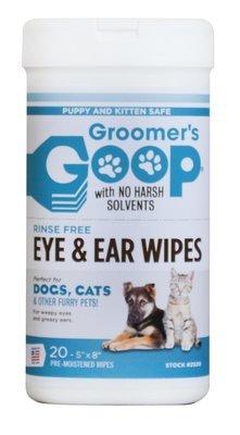 Салфетки для глаз и ушей Groomer's Goop 20 шт/уп