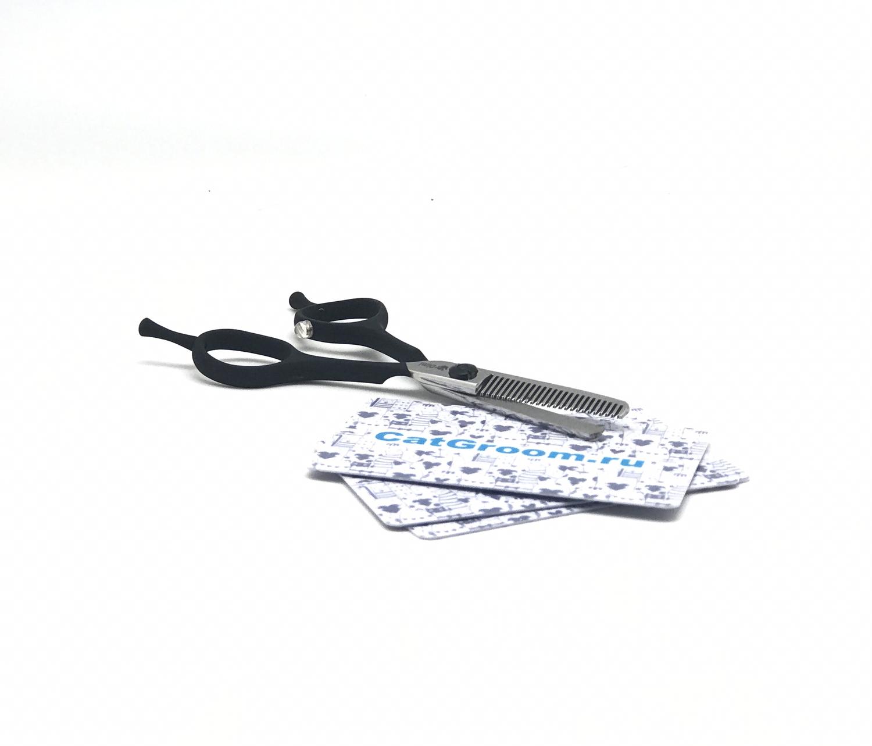 Ножницы филлировочные DIMI черные