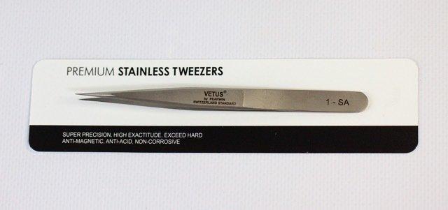 Vetus Eyelash Extension Tweezers - Straight(1-SA) 3D Volume Extension Tweezers