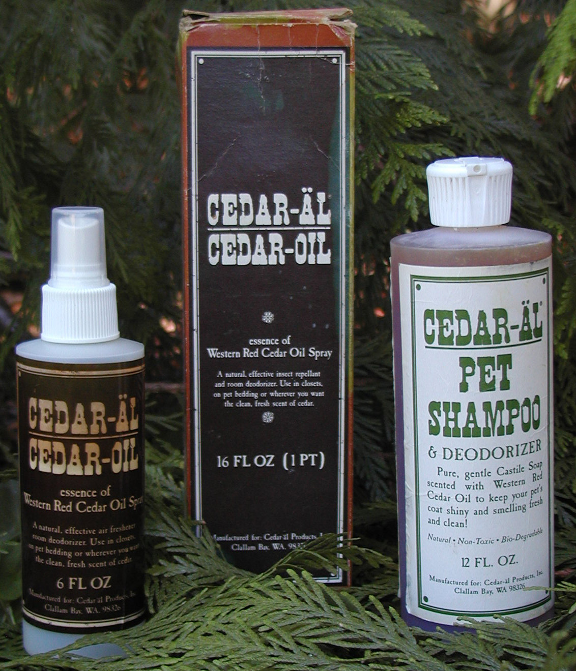 CEDAR-AL Cedar Oil Spray 1