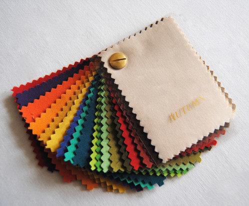 Seasonal Mini Swatch wallet - Autumn 1002