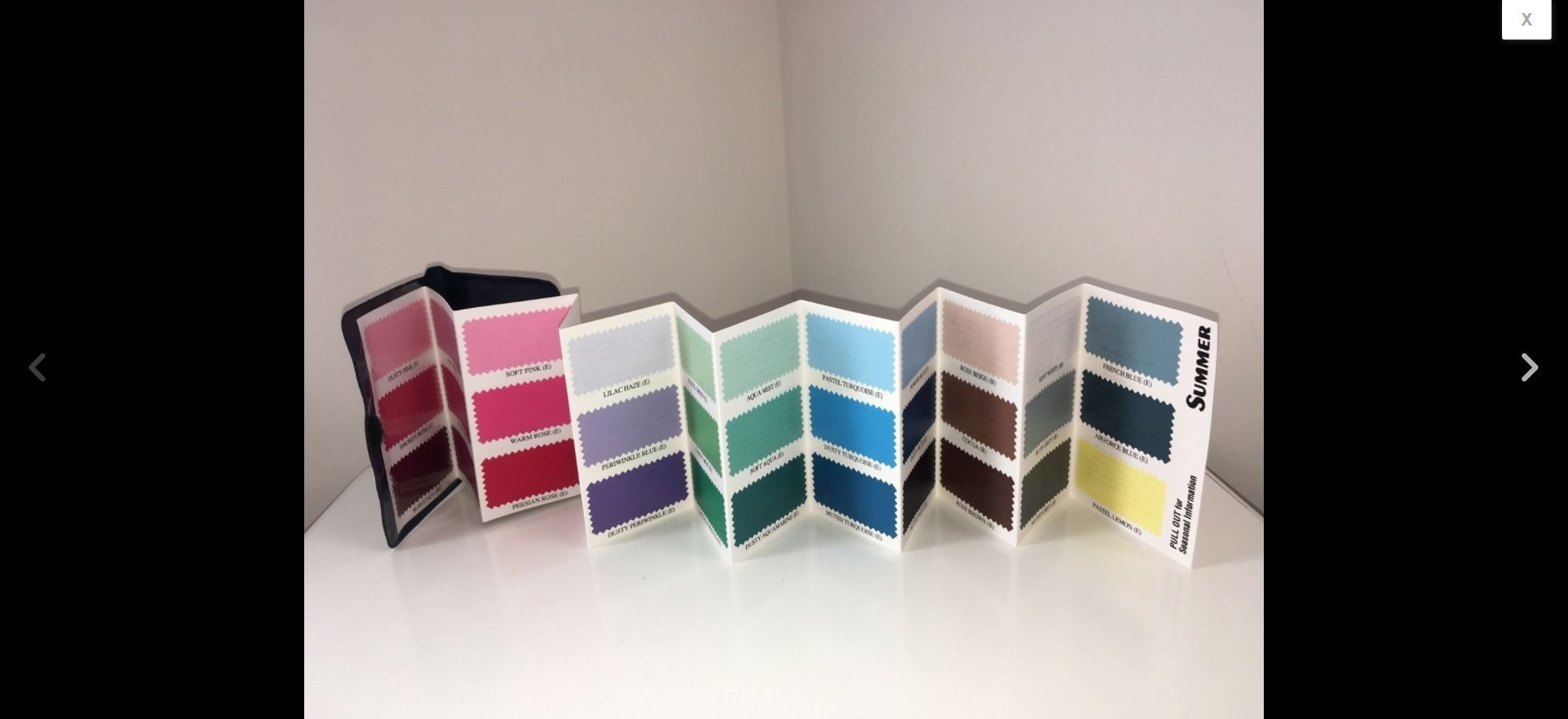Colour Me Beautiful Seasonal Wardrobe Wallet - Summer 00004