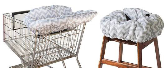 Ritzy Sitzy Shopping Cart and High Chair Cover