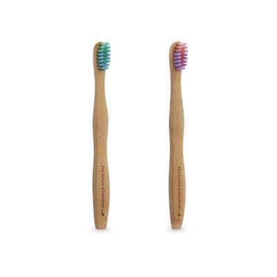 The Future Is Bamboo Kids Toothbrush