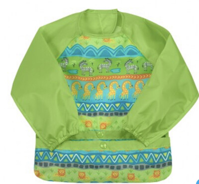 Green Sprouts Long Sleeve Bib