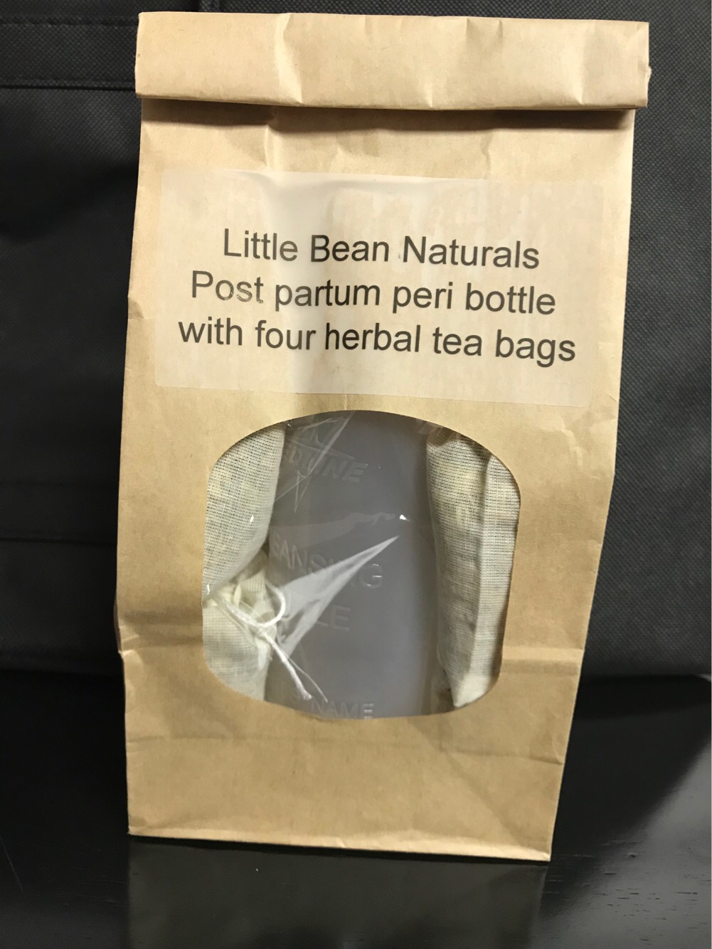 Little Bean Naturals Peri Bottle with Herbal Bags