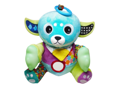 Yummy Buddy Teether Plush Toy