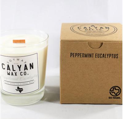Calyan Wax Co. Peppermint Eucalyptus Soy Candle