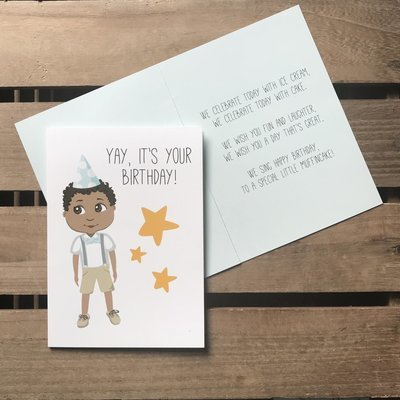 Little Muffincakes Greeting Card