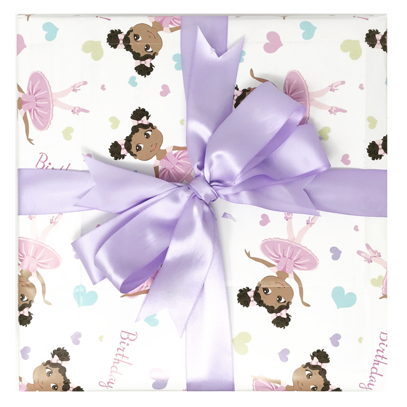 Little Muffincakes Wrapping Paper Sheet (Bow not Included)