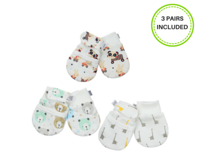 Darlyng & Co Anti Scratch Mittens (0-6 months)